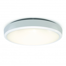 Smart LED Wall and Ceiling Light IP54 White WiFi/BLE