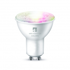 LED Smart GU10 Bulb WiFi & Bluetooth, Colours and Tuneable White & Dimmable