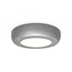 Circle Silver Cabinet LED