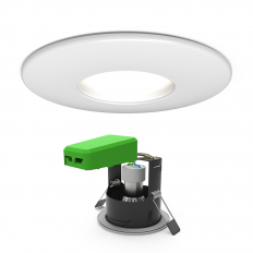 IP65 GU10 FRD Downlight Matt White