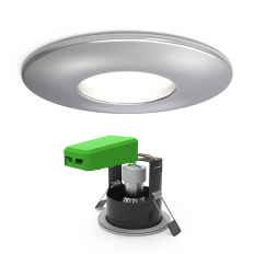 IP65 GU10 FRD Downlight Chrome