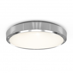 IP54 Surface Circular Wall/Ceiling Chrome Bezel Only 4000K