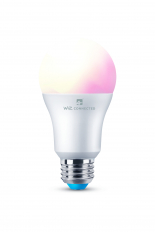 LED Smart Bulb Wifi & Bluetooth ES (E27) Colour Changing, Tuneable White & Dimmable