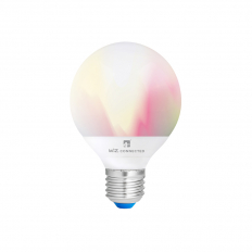 LED Smart Bulb G95 WiFi & Bluetooth ES (E27) Colour Changing, Tuneable White & Dimmable