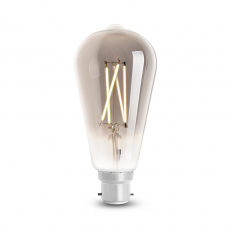 LED Smart ST64 Filament Bulb Smoky BC (B22) Tuneable White & Dimmable