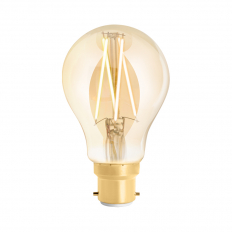 LED Smart Filament Bulb Amber BC (B22) Tuneable White & Dimmable