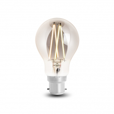 LED Smart Filament Bulb Smoky BC (B22) Tuneable White & Dimmable