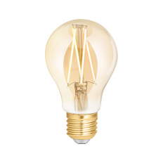 LED Smart Filament Bulb Amber ES (E27) Tuneable White & Dimmable