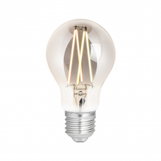 LED Smart Filament Bulb Smoky ES (E27) Tuneable White & Dimmable