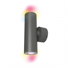Smart Outdoor LED Up and Down Wall Light.