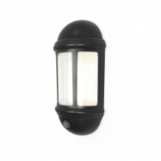LED Half Lantern Wall PIR